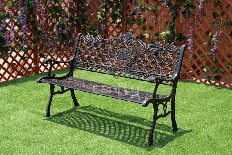Strange Outdoor All Weather Cast Aluminum Patio Bench Forskolin Free Trial Chair Design Images Forskolin Free Trialorg