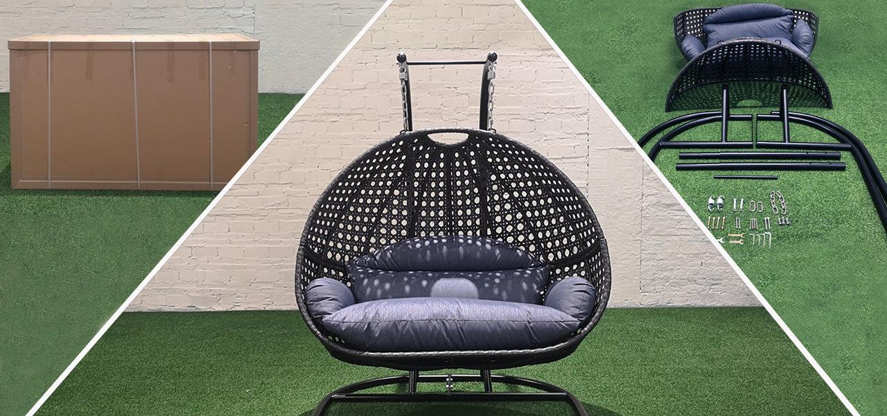 Novo recomendo: Cadeira de balanço duplo TF-9716KD