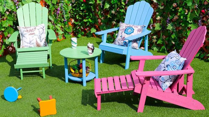 Faça o seu mobiliário de exterior durar com madeira serrada de plástico